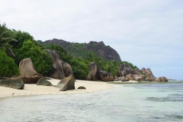 most beautiful beach in the world - Anse Source d'argent